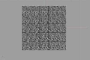 5x5 Array of tiles in repeating pattern