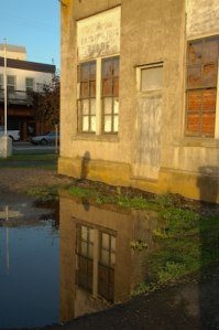 Abandoned warehouse, Donald, Oregon