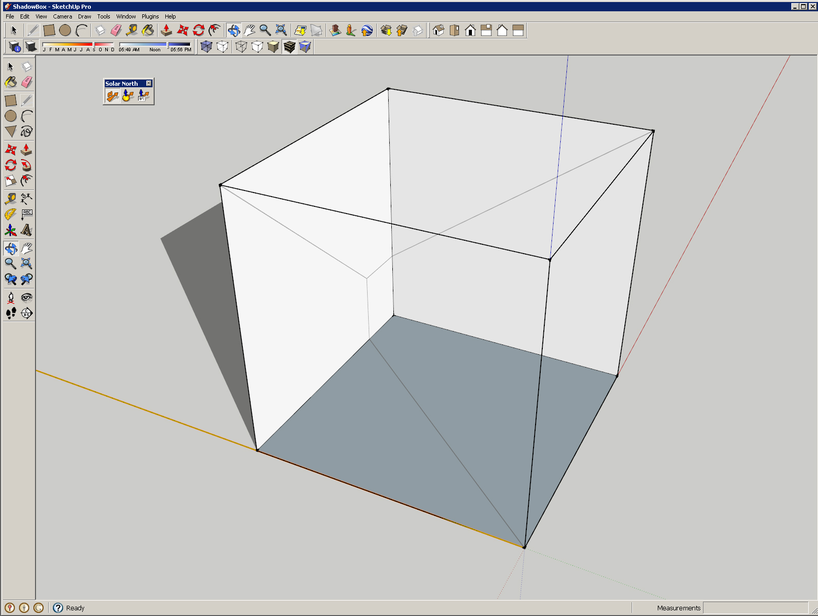Aligning the sun in sketchup gnarly architecture shadowbox1 pooptronica
