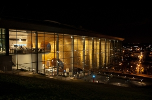SG 2012 was hosted in the phenomenally beautiful EMPAC building at Rensselaer Polytechnical Institute