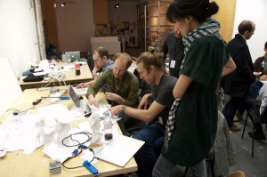 The Adaptive Structural Skins Team at Work